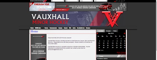 Vauxhall Minor Hockey Capture